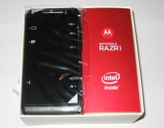 Motorola-RAZR I-original-Verpackung
