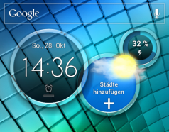 Homescreen-Start